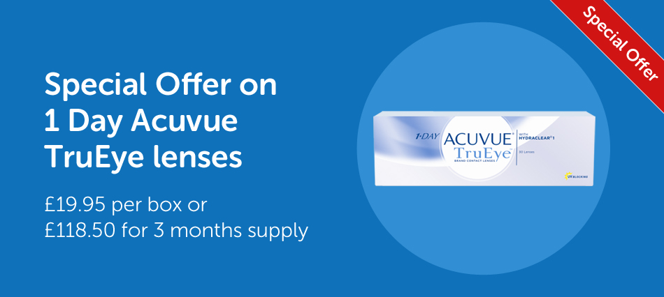 Special Offer on 1 DAY ACUVUE TruEye
